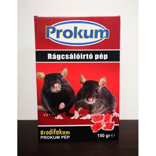 Rágcsálóirtó pép Prokum 150 gr