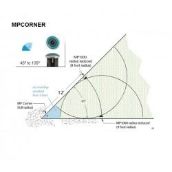 Hunter MP Rotator Corner, 2,5-4,5m / 45-105°