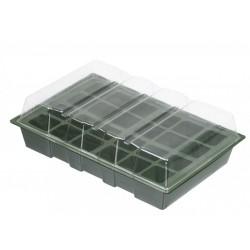 Mini üvegház szett, 4 x 24 rekeszes, NATURE