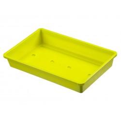 Csíráztató  tálka Sárga, 1 db 37,5 x 24 cm, NATURE