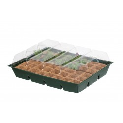Mini üvegház, 48 rekeszes, NATURE