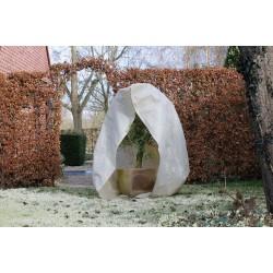 Téli takarófólia, cipzárral, 250 x 300 cm, NATURE