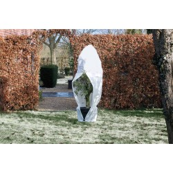Téli takarófólia, cipzárral, 200 x 250 cm, NATURE