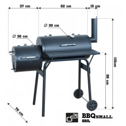 BBQ small grillsütő