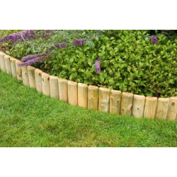 Ágyásszegély fa 30 cm x 2 méteres