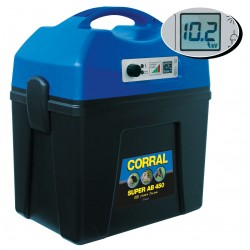 Corral Super AB450 villanypásztor készülék 9V / 12V / 230V