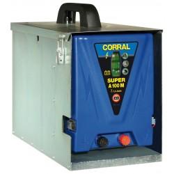 Corral Super A100M / 12 V villanypásztor készülék fém dobozzal
