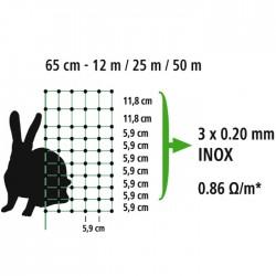 Nyúlháló 65 cm x 50 méter