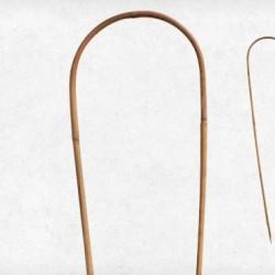 Bambusz termesztőkaró íves, 90 cm