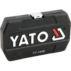 """Dugókulcs készlet 1/4"""" 25r YATO"""