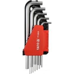 Imbusz kulcs klt. 12 db-os colos