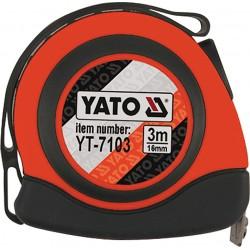 Mérőszalag 3 méteres YATO