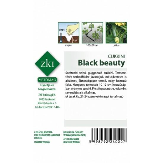 Cukkini Black beauty 3 gr