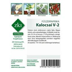 Fűszerpaprika Kalocsai V-2 1 gr