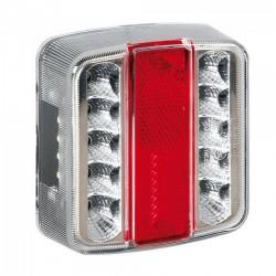 Hátsó lámpa, 14 LED-es